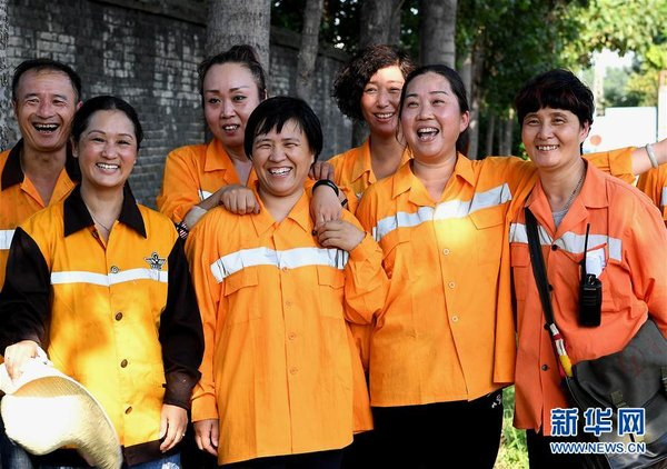 Female Maintenance Staff Ensure Railway Security in C China