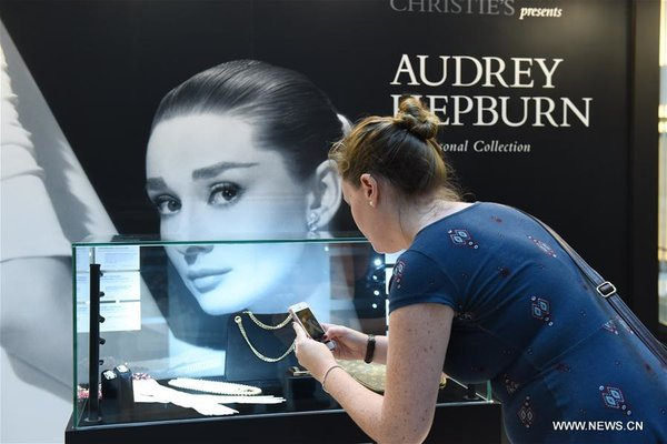 Personal Collections of Audrey Hepburn Exhibited in HK