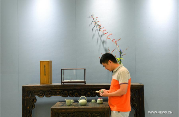 Intangible Cultural Heritage Exhibition Kicks Off in Beijing