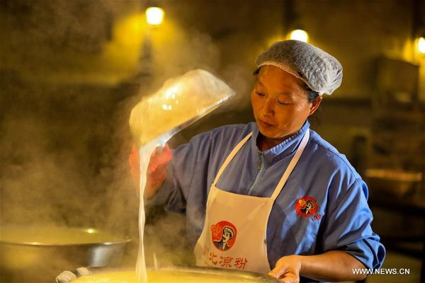 Intangible Cultural Heritage: Clear Noodles in Chili Sauce in SW China