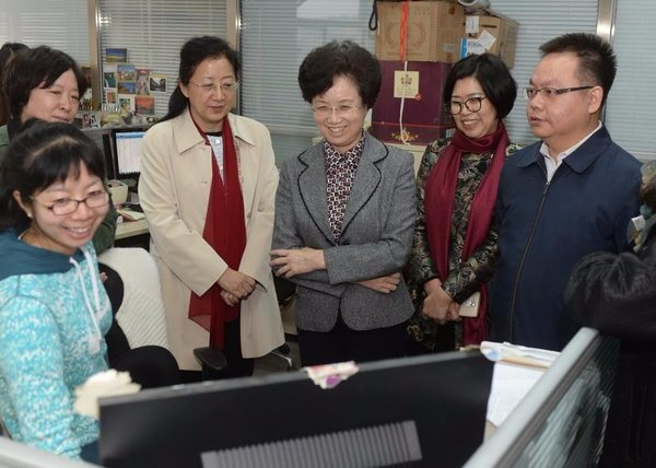 ACWF VPs Encourage Reporters on Coverage of CPC National Congress