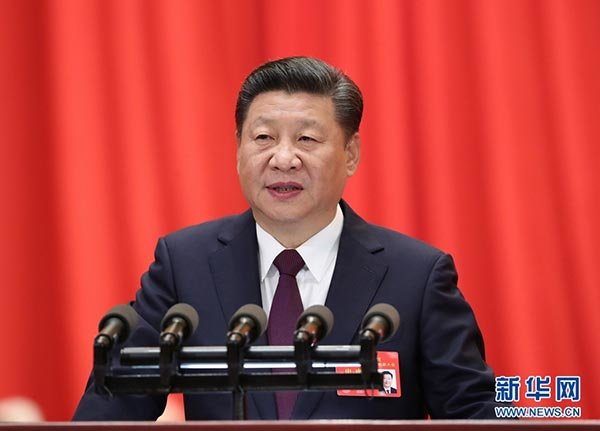 How is the 19th CPC National Congress Report Written?