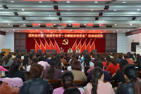 ACWF Offers Direct Assistance to Poverty Alleviation in NW China