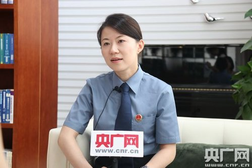 Shanghai Prosecutor Delivers Live-feed Demonstration to Netizens