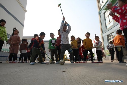Children Take Part in Amusing Sports Meeting in E China