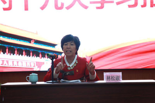 Party Official Shares Spirit of CPC National Congress in NE China
