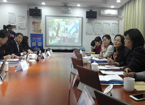 NWCCW Officials Inspect Pilot Work on Gender Equality Education in N China