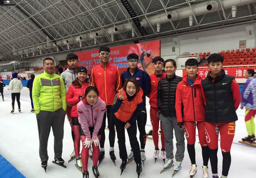 Legendary Skater Continues Efforts to Realize China's Sports Dream