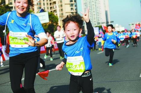 20,000 Run Marathon in S China