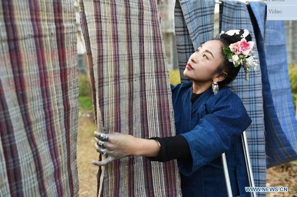 Miao Embroidery Promoted in SW China's Guizhou