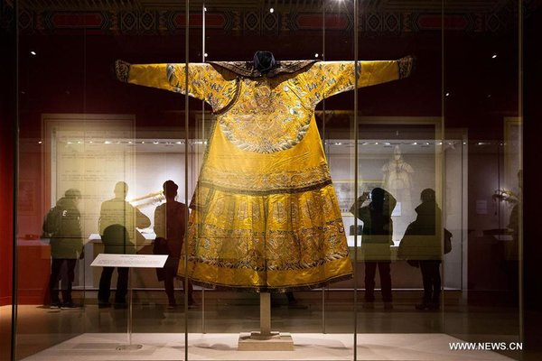 Exhibition About Qing Dynasty Displayed in Nanjing Museum