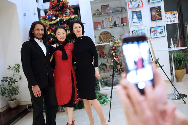 Russian Cultural Center Hosts New Year Celebration