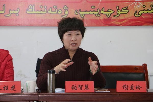Women's Federation Engaged in Campaign to Convey Congress Spirit in NW China