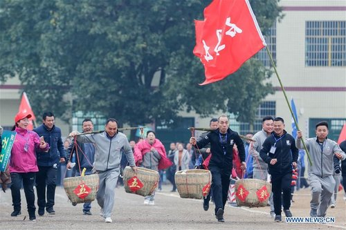 Various Activities Held  to Greet Chinese Spring Festival