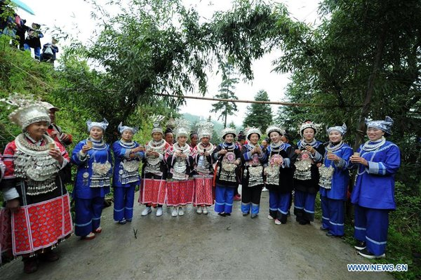Miao People Celebrate Love Song Festival in China's Guizhou