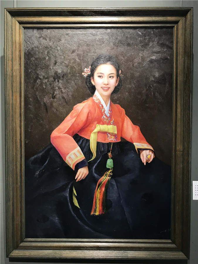 Top DPRK Artists Display Works in Harbin, N China