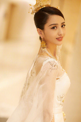 Actress Tong Liya Spotted in 8th Beijing Film Festival ...