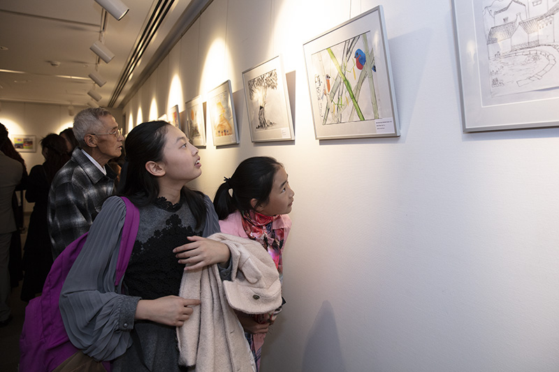 Int'l Children's Painting Exhibition Held in Sydney
