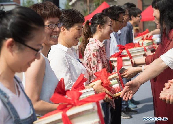 Reading Season Inauguration Ceremony Held in China's Zhejiang
