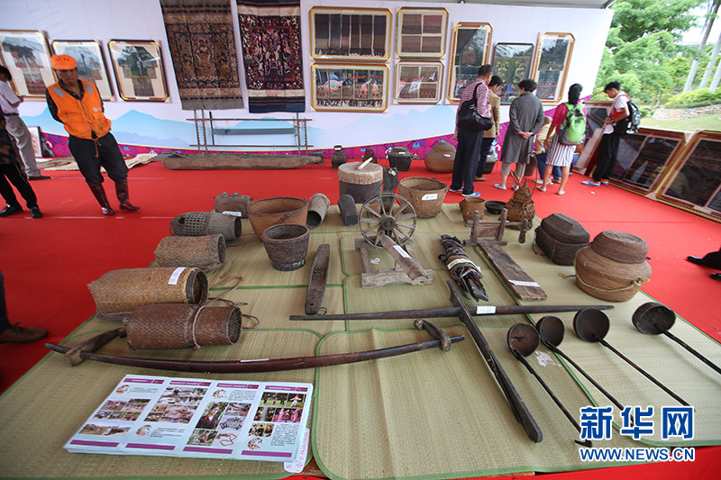 Baisha County Holds Exhibition of Intangible Cultural Heritage