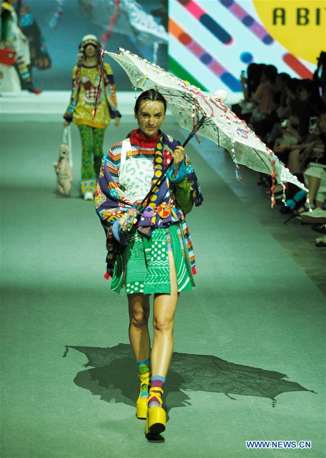 Creations Designed By Graduates Staged At Fashion Show In Hong Kong All China Women S Federation