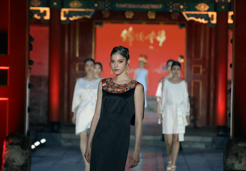Beijing Embroidery Shines with New Designs