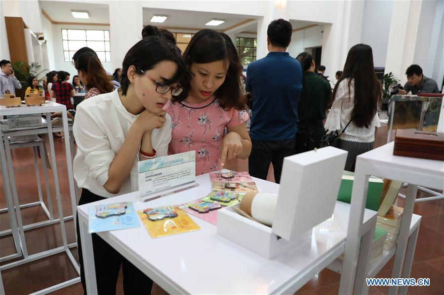 Nanjing Cultural and Creative Products Exhibition of China Held in Hanoi