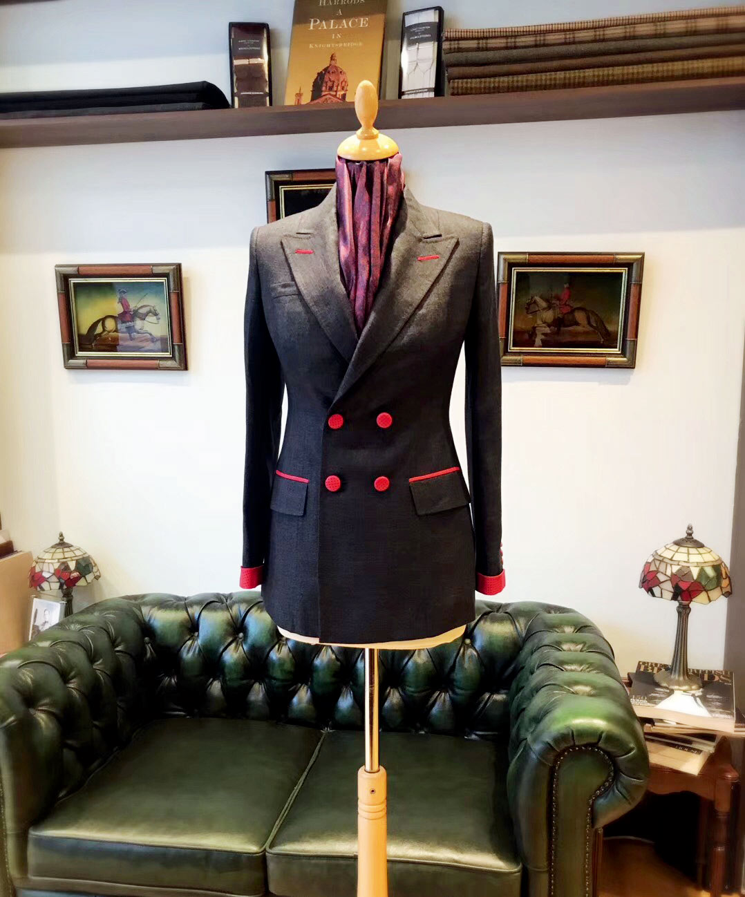 Chinese Female Tailor Shines at Savile Row