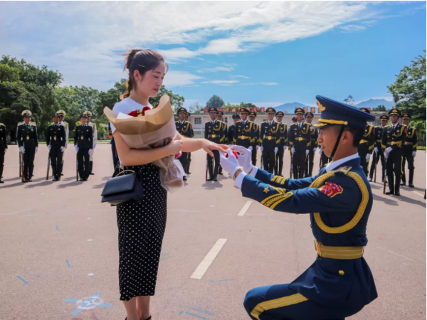 Soldier Organizes Unique 'Proposal' Ceremony in Barracks