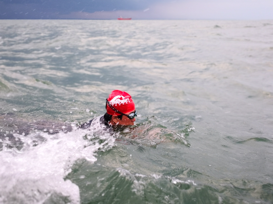 56-year-old Woman Swims to Record Book