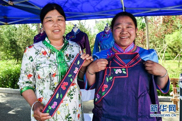Impoverished Women Get Rid of Poverty by Selling Embroideries