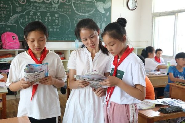 Much-loved Teacher Spreads Modern English Classes in Rural Area