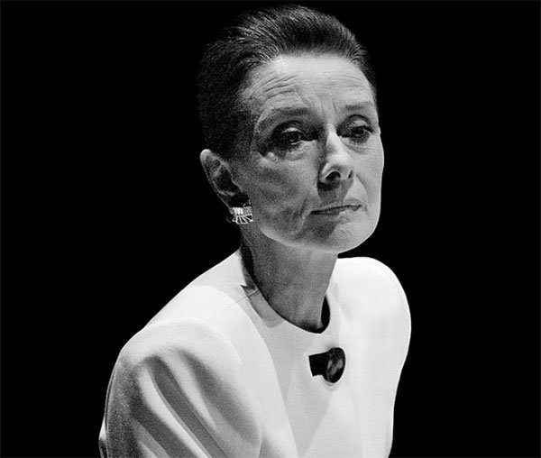 911f7d24db1 A picture taken by Wang Xiao Hui of British legendary actress Audrey Hepburn  in 1992. [China Daily]