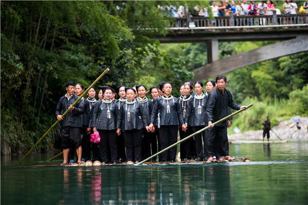 Zhuang People Perform Grand Choirs in SW China