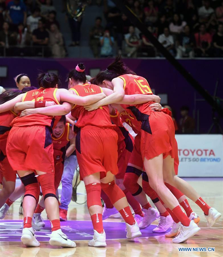 China Wins Women's Basketball Final at Asiad