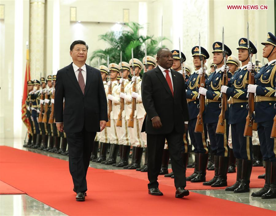 China, South Africa Agree to Lift Ties to New Level