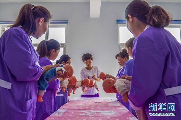 Professional Skills Help Impoverished Women Shake off Poverty in N China