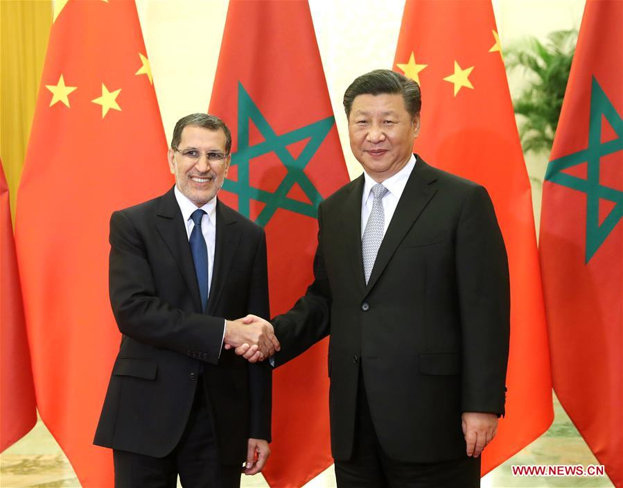 Xi Meets Morocco's Prime Minister