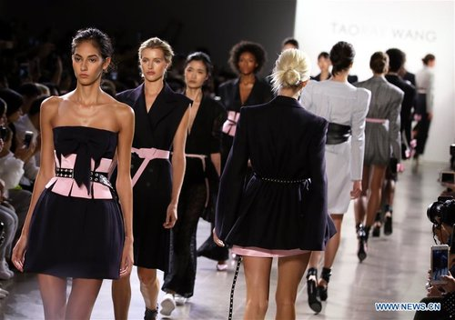Creations of Taoray Wang Presented at New York Fashion Week