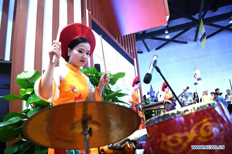 Open-day Performance during 15th China-ASEAN Expo in Nanning
