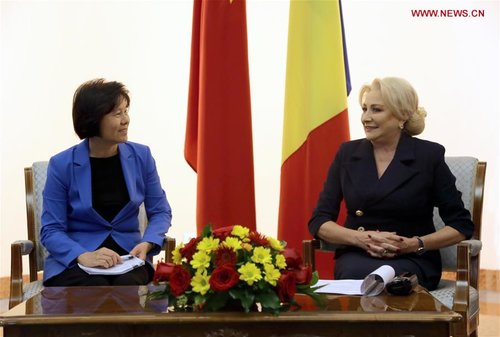 Shen Yueyue Visits Romania to Enhance Ties