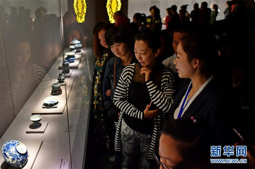 Palace Museum Artifacts Prove Popular in N China's Shanxi