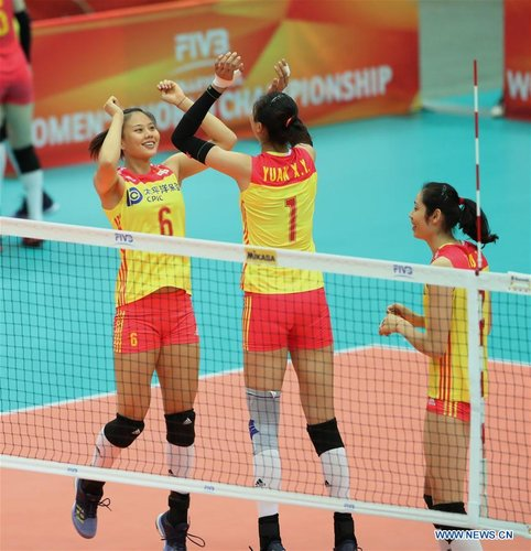 China Sweep United States at Volleyball World Championships
