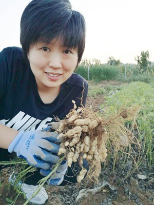 Overseas Returnee Strives for Her Green Agriculture Dream