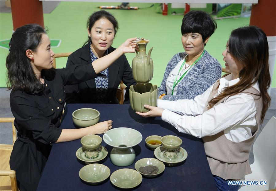 Tea expo kicks off in Xi'an, NW China's Shaanxi