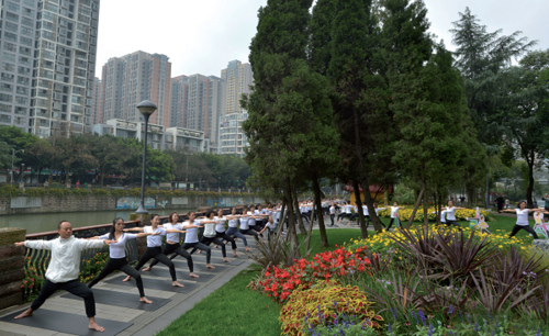 Qingyang District of Chengdu Transforms Itself Into a Picturesque Park