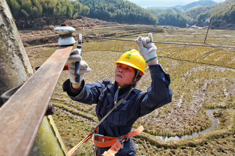 Female Technician Ensures Electricity Security in Mountainous Area for 28 Years