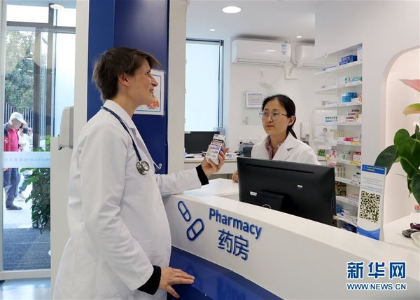 Foreign Female Doctor Works in Shanghai over a Decade