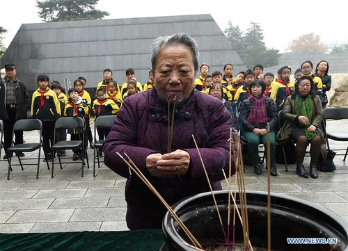 Commemoration Activities for Nanjing Massacre Victims