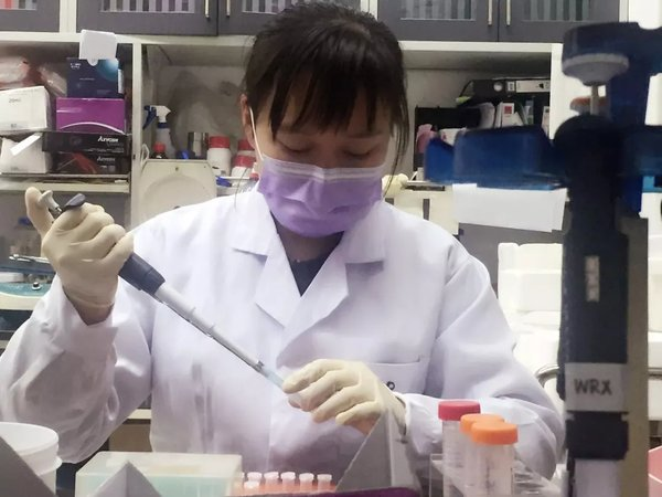 Tsinghua Postdoctoral Student Wins Global Bioscience Award
